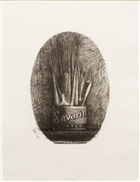 savarin 4 (opal) by jasper johns