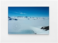 antarctic footprints by richard long