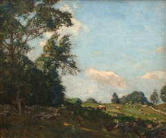 afternoon shade, summer by charles harold davis