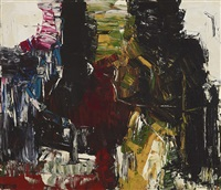 poisson-chat by jean paul riopelle