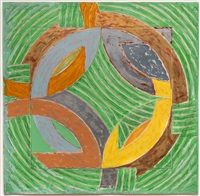polar co-ordinates iv by frank stella