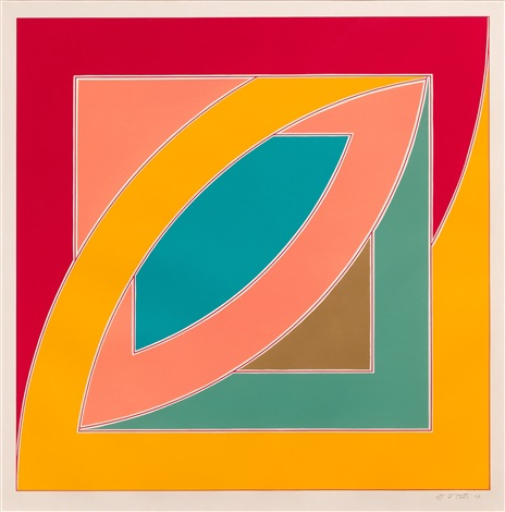river of ponds ii by frank stella
