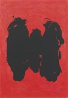 three figures by robert motherwell