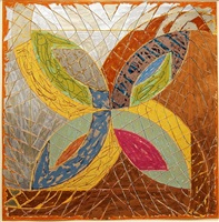 polar co-ordinates iii by frank stella