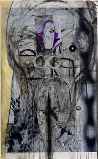 untitled by huma bhabha