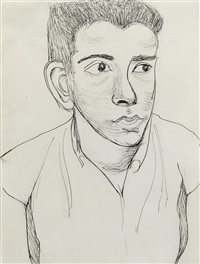 young man by alice neel