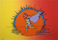 if series: runner by peter max