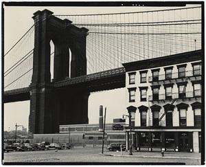 brooklyn bridge, new york by brett weston