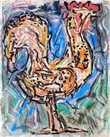 coq by jean paul riopelle