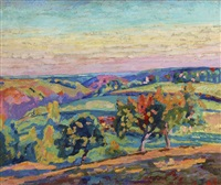 paysage de la creuse by armand guillaumin