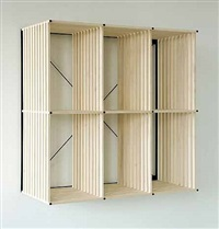 modular shelving unit (pk reol bookcase) by poul kjaerholm