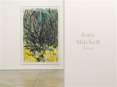 joan mitchell trees by joan mitchell