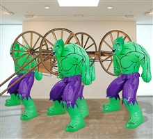 hulks (carriage) by jeff koons