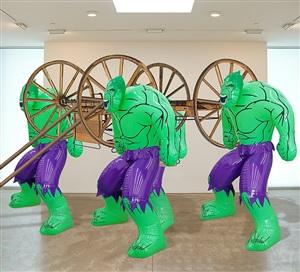 hulks (carriage) by jeff koons