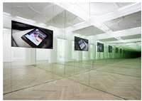 hamilton: a film by liam gillick (installation view) by liam gillick