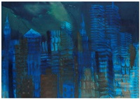 n.y. night by rainer fetting