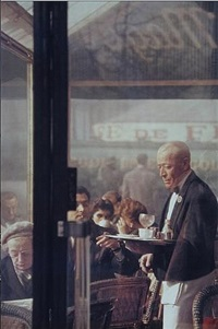waiter, paris by saul leiter