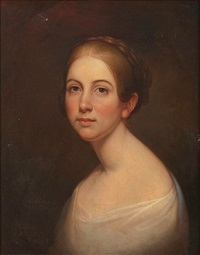 portrait of a young woman by rembrandt peale