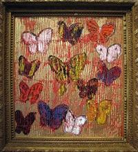metallic butterflies by hunt slonem