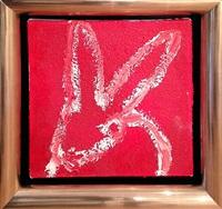 red diamond bunny by hunt slonem