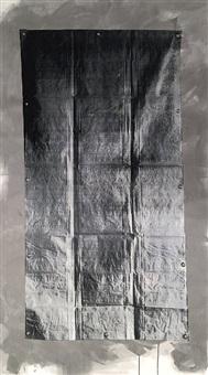 white tarp (stainless steel) by gardar eide einarsson
