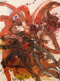 composition t55 by kazuo shiraga