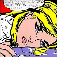 hopeless by roy lichtenstein
