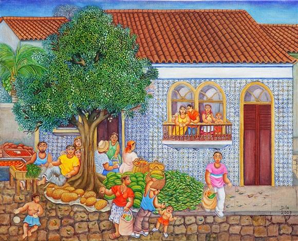 vendedores de frutas / fruits salesmen by dila