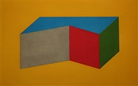 forms derived from a rectangular solid #12 by sol lewitt