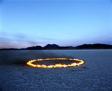 circle of fire in the desert by alfredo destéfano