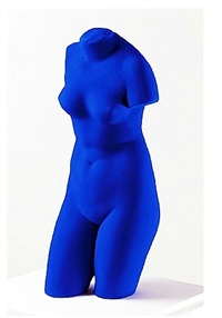 blue venus by yves klein