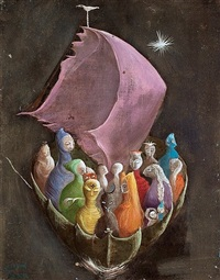 en el barco by leonora carrington