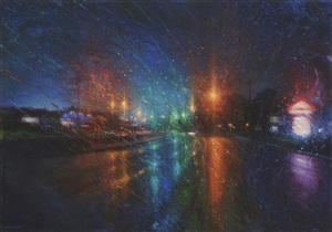 night rain i by tom birkner