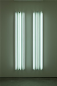 #6 x 8' four fold- (state 1) by robert irwin