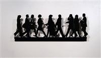 city walkers 1 by julian opie