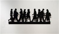 city walkers 2 by julian opie