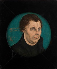 bildnis martin luthers by lucas cranach the elder
