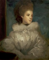 mrs. frances abington (after sir joshua reynolds) by john singer sargent