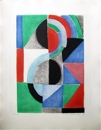 avec moi-même, planche 9 by sonia delaunay-terk