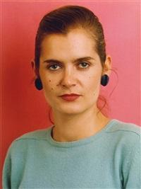 porträt (k. lehmann) by thomas ruff
