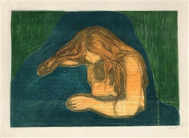 vampyr ii by edvard munch