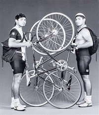 bike couriers by robert mapplethorpe