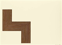 copper series - ophir by frank stella