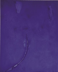 blu notturno by mimmo paladino