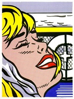 shipboard girl by roy lichtenstein