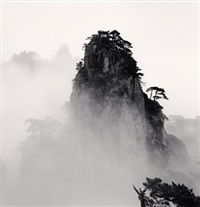 huangshan mountains, study no 11, anhui, china, 2008 by michael kenna