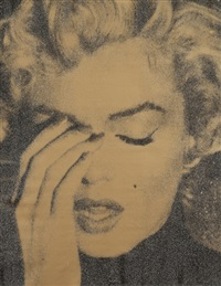 new york crying marilyn by russell young