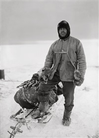 captain robert falcon scott, 13 april 1911 by herbert george ponting