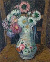 vase de fleurs by gustave loiseau