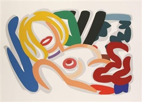 big blonde by tom wesselmann